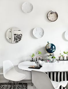 Inspiration from Idha Lindhag - Nordic Design Dining Room Inspiration, Interior Inspiration, Interior Decorating, Interior Design, Decorating Ideas, Nordic Design, Dining Room Design, Dining Rooms, Dining Area