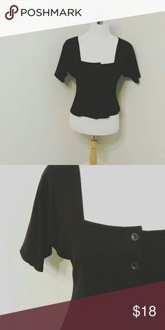 Campagnie Internationale Express blouse Button up, bustier mock shirt. Express Tops Blouses