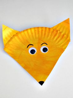 Fox in Socks Dr. Seuss Paper Plate craft