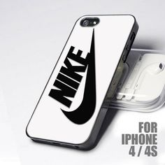 Nike Black - White Wallpaper for iPhone 4 and 4S