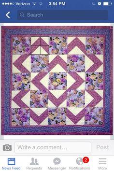 Walk About quilt pattern