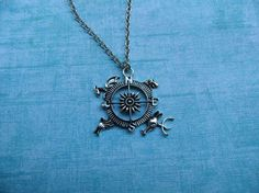 Compass Pendant Game of Thrones Style