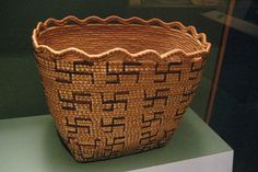 NYC - National Museum of the American Indian - Skokomish coiled basket by wallyg, via Flickr