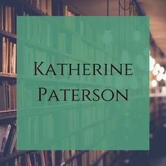 """Katherine Womeldorf Paterson (born Oct. 31, 1932) is a Chinese-born American writer best known for children's novels, including Bridge to Terabithia. For 4 different books published 1975-1980, she won two Newbery Medals and two National Book Awards. She is one of 4 people to win the 2 major international awards; for """"lasting contribution to children's literature"""" she won the Hans Christian Andersen Award for Writing in 1998. She won the Astrid Lindgren Memorial Award in 2006. Clifford Books, Norman Bridwell, Katherine Paterson, The Baby Sitters Club, World Library, Kids Book Series, Tv Series, Nobel Prize In Literature, Children's Literature"""