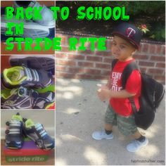 Back to school style in Stride Rite
