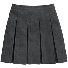 Top Class Girls School Uniform Woven Standard Skirts (2 Pack) ❤ liked on Polyvore featuring skirts, bottoms, uniform and school uniform