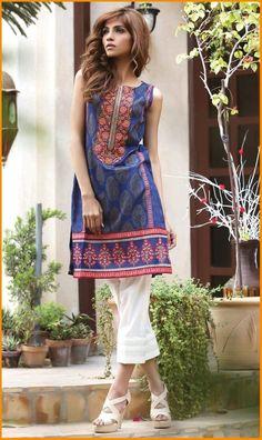 Orient Embroidered Kurti Collection 2016 Vol 2  #Orient #Dresses #KurtiCollection #EmbroideredDresses #PakistaniLawn #PakistaniDresses