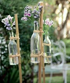 87 Brilliant Garden Wedding Decor Ideas I've got a bunch of bamboo stakes. - 87 Brilliant Garden Wedding Decor Ideas I've got a bunch of bamboo stakes I picked up at a - Free Wedding, Diy Wedding, Rustic Wedding, Wedding Flowers, Wedding Ideas, Wedding Ceremony, Small Garden Wedding, Wedding At Home, Bamboo Wedding Arch