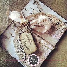 15 ideas #BodaTotal para crear tus invitaciones al estilo vintage. Da click y ¡enamorte!