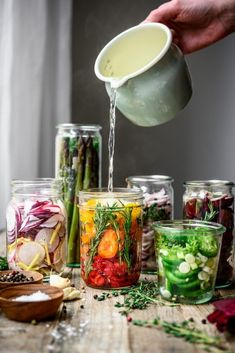 A Guide to Making Quick Pickles at Home Crowded Kitchen Pickled Radishes, Pickled Shallots, Pickled Asparagus, Quick Pickled Vegetables, Pickled Carrots, Pickled Red Onions, How To Pickle Vegetables, Quick Pickle Recipe, Carrot Pickle Recipe