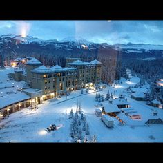Fairmont Chateau Lake Louise Canada #MinitimeDreamHoliday