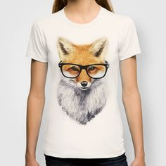 """Mr. Fox' T-Shirt by Isaiah K. Stephens on Society6."