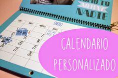 Naif Planet: Calendario Scrap Personalizado