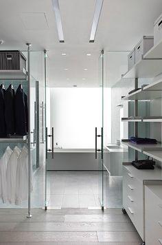 Modern Luxury Closet ~ Cynthia Reccord