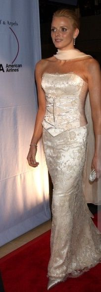 Charlène de Monaco - I love this dress and the shoes, so stunning
