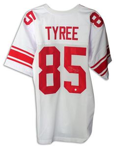 David Tyree New York Giants Autographed White Jersey with COA