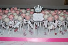 Princess theme cake pops and display | My Two Sweetie Pies…cupcakes and more
