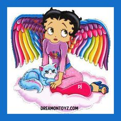 Betty Boop Pictures Archive: Betty Boop Angel Facebook Profile Pictures