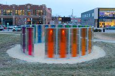Step Inside A Giant Kaleidoscope in Iowa