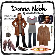 """Donna Noble"" by adashofwhimsey on Polyvore"