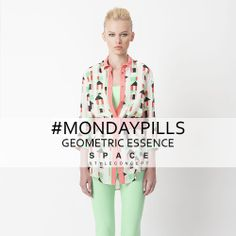 Geometric Lines for a colorful  Monday! #MondayPills