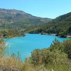Castellane, Gorges du Verdon, le Lac de Castillon