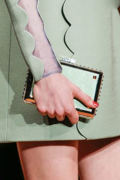 the prom queen pastel clutch from #valentino fall 2013 #TopshopPromQueen