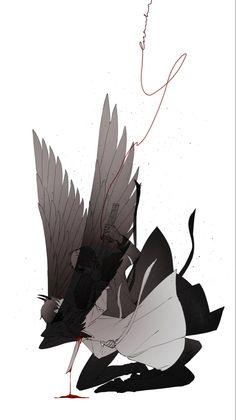 Character Art, Character Design, Fanart, Art Folder, New Readers, Angel And Devil, Best Novels, Anime Films, Dark Fantasy