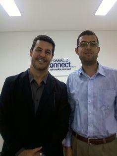 Professor Marco Antônio, coordenador do Curso Damásio.