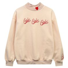 GIRLS GIRLS GIRLS SWEATSHIRT – Boogzel Apparel