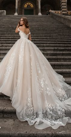 La Petra 2019 Wedding Dresses Collection V Neck Backless Lace Mermaid Cheap Wedding Dresses Online, Cheap Bridal Dresses Wedding Dress Trends, Princess Wedding Dresses, Dream Wedding Dresses, Wedding Attire, Bridal Dresses, Wedding Gowns, Bridesmaid Dresses, Winter Wedding Dress Ballgown, Strapless Wedding Dresses
