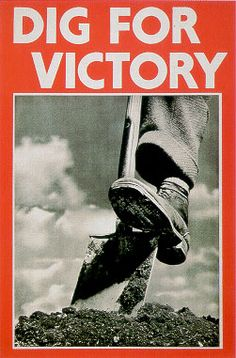 Dig for Victory Poster.