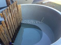 Hottub 160 taps, Thermowood | Ticra Buitenleven