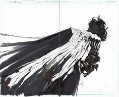Splash Page Comic Art :: For Sale Artwork :: All Star Batman Cover by artist Jock