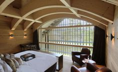 The Furka Suite at The Chedi Andermatt, Switzerland / By Belgian architect Jean-Michel Gathy