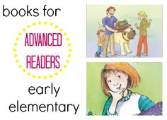 Books for Advanced Readers: Early Elementary School-Aged Kids   Parents   Scholastic.com