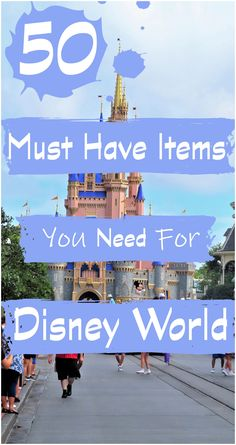 Can't decide what you will need or want to pack for Disney World? Let us help with our awesome Disney World packing list! Check out our top items and suggestions of what to pack for your next Disney World vacation. |Disney World travel| |Family Travel| |Disney packing list| |Disney bag| Disney List, Disney Money, Packing List For Disney, Disney World Packing, Disney World Vacation Planning, Walt Disney World Vacations, Disneyland Trip, Vacation Packing, Disney Planning