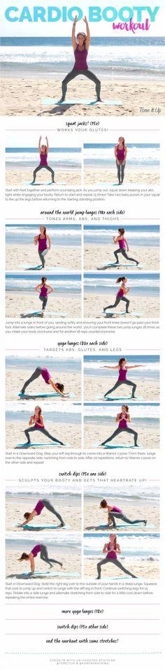 TIU Cardio Booty Workout
