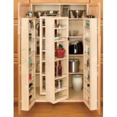 Corner Pantry Cabinet Is The Answer For Your Problems Regarding Kitchen  Storage. By Having Appropriate