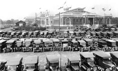1923 Toronto Auto Show at Transportation Hall