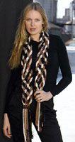 Bond America® / Embellish-Knit™ Braided Scarf