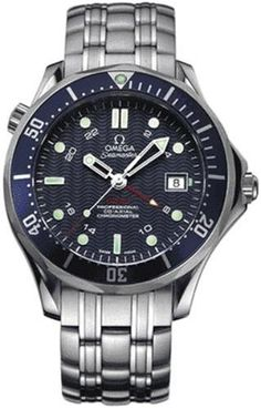"Omega Men's 2535.80.00 Seamaster 300M GMT ""James Bond"" Automatic Chronometer Watch"