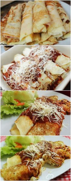 Massa de panqueca deliciosa e simples - Food and recipes - Delicious Pancakes