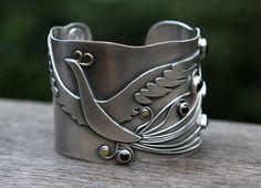 Firebird Cuff by Spiralstone