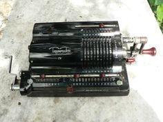 Triumphator mechanical calculator from the 40s