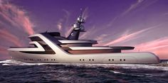 H2 Yacht Design has created a new interpretation of the 59m superyacht HR MS Blommendal.
