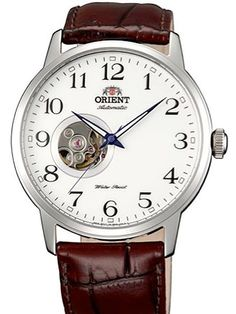 b64a62fab897 Orient Esteem 21-Jewel Automatic Watch with Leather Strap  FDB08005W. Relojes  OrientRelojes Para HombresRelojes ...
