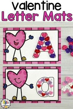 These #ValentineLetterMats are a fun way for your students to practice writing capital and lowercase letters and numbers 1-10. Your students can write the letters with a dry erase marker or form the letter using #minierasers, play dough, heart buttons, or another manipulative. This #Valentinealphabetactivity is perfect for #literacycenters, #morningtubs, or as an enrichment activity for #earlyfinishers.