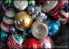 Another great tutorial!  Learn how to make New Ornaments Look Vintage over @Finding Home