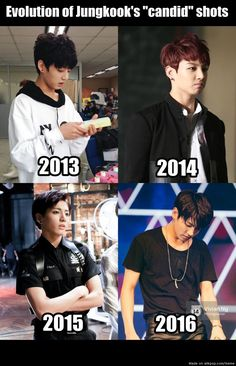 something happened between 2014-2015 that I wanna know lmao jeon jungkook can u not